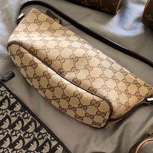 Gucci monogram small purse